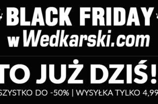 Black Friday w Wedkarski.com – trwa aż do niedzieli włącznie!